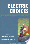 Electric Choices Book PDF
