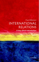 International Relations  A Very Short Introduction