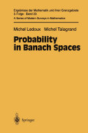 Probability in Banach Spaces
