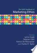 The SAGE Handbook of Marketing Ethics Book