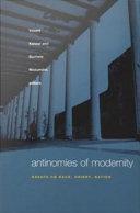 Antinomies of Modernity Pdf/ePub eBook