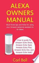 Alexa Owners Manual