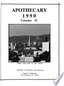 University of California, San Francisco. School of Pharmacy Yearbook