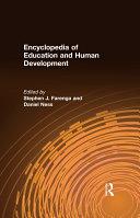 Encyclopedia of Education and Human Development