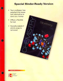 Loose Leaf Version for Chemistry: The Molecular Nature of Matter and Change