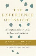 The Experience of Insight Pdf/ePub eBook