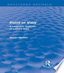 Point Of View Routledge Revivals