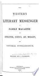 The Western Literary Messenger Book PDF