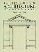 The ten books of architecture