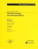 Nanotechnology and Nanophotonics