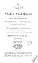 The Plays of W  Shakespeare  2