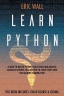 Learn Python Book PDF