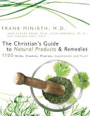The Christian s Guide to Natural Products   Remedies