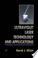 Ultraviolet Laser Technology and Applications