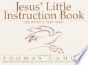 Jesus  Little Instruction Book