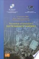 Electromagnetic Materials Book PDF