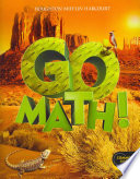 Go Math!, Grade 5 + Standards Practice Book