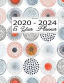 Monthly 2020 2024 5 Year Planner