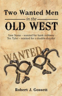 Pdf Two Wanted Men in the Old West