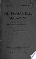 The Mineralogical Magazine and Journal of the Mineralogical Society