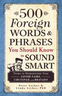 Pdf 500 Foreign Words & Phrases You Should Know to Sound Smart