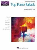 Top Piano Ballads Popular Songs Series