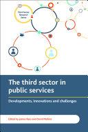 The third sector delivering public services Pdf/ePub eBook