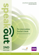 Speakout Pre-Intermediate 2nd Edition Teacher's Guide for Pack