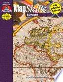 Map Skills - Europe (eBook)