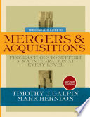 The Complete Guide to Mergers and Acquisitions Book