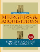 The Complete Guide to Mergers and Acquisitions ebook