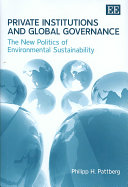 Private Institutions And Global Governance Book PDF