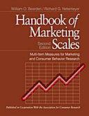 Handbook of Marketing Scales Book