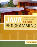 JavaTM Programming: From Problem Analysis to Program Design