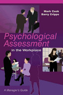 Psychological Assessment In The Workplace Book PDF