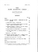 The Slow Learning Child Book