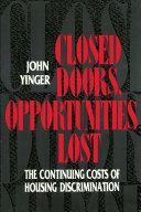 Closed Doors, Opportunities Lost Pdf/ePub eBook