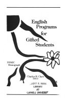 English Programs for Gifted Students Book