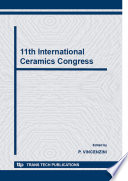 11th International Ceramics Congress Book PDF