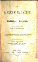 The Bankers Magazine and Statistical Register
