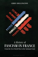 Pdf A History of Fascism in France Telecharger