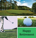 Golf Retirement Guest Book Hardcover  Book PDF