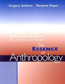Study Guide for Haviland, Prins, Walrath, McBride's the Essence of Anthropology