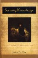 Seeming Knowledge