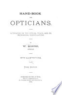 Hand-book for Opticians