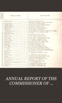 ANNUAL REPORT OF THE COMMISSIONER OF AGRICULTURE FOR THE YEAR 1880