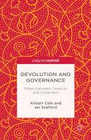 Devolution and Governance [Pdf/ePub] eBook