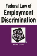 Federal Law of Employment Discrimination in a Nutshell