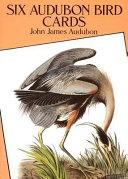 Six Audubon Bird Postcards
