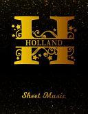 Holland Sheet Music